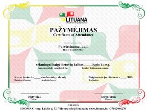 Lituana diploma